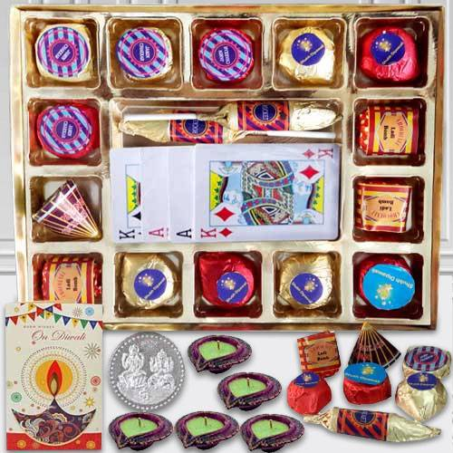 Tasty Handmade Chocolates n Playing Cards