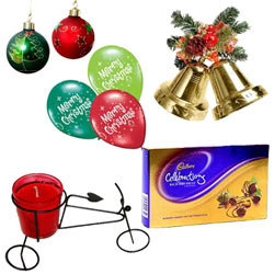Creative Christmas Hamper with Hint of Affection