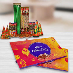 Superb Combo of Cadbury Celebration Pack and Crackers