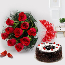 Cake and Flower to India by India Florist