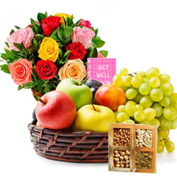 Healthy Get Well Treat Hamper