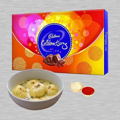 Combo of Cadbury Celebrations Pack N Rasmalai