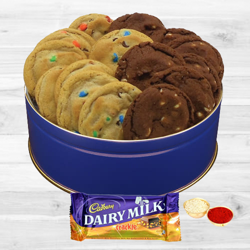 Combo of Assorted Cookies N Dairy Milk Crackle