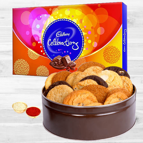 Combo of Mixed Cookies N Cadbury Celebrations