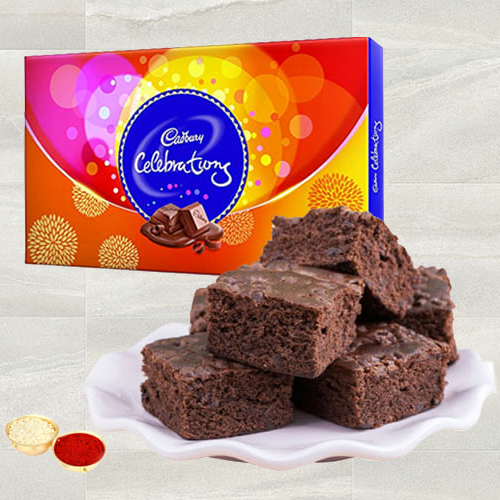 Combo of Brownie N Cadbury Celebrations