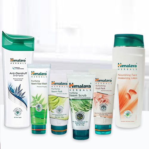 Refreshing Shower Time with Himalaya Pack for Women