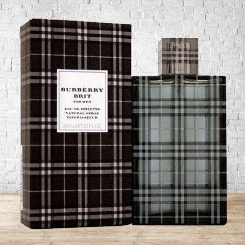 Special Fragrant Touch of Burberry Brit EDT for Men