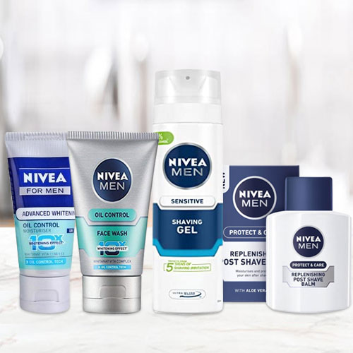 Look best with Nivea Grooming Kit for Men