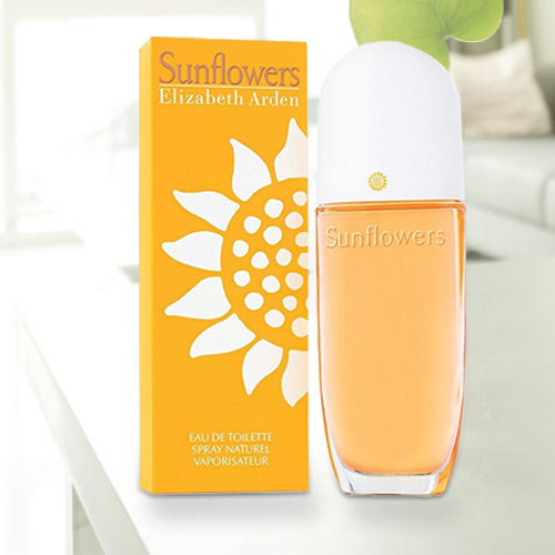Fragrance Delight with Sunflowers from Elizabeth Arden EDT for Women