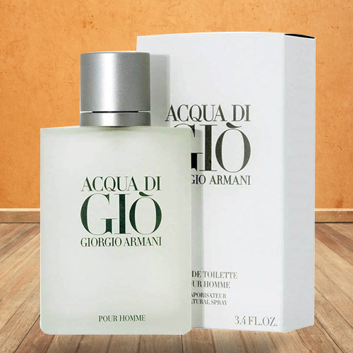 Delectable Perfume Bottle from Aqua Di Gio Armani for Men