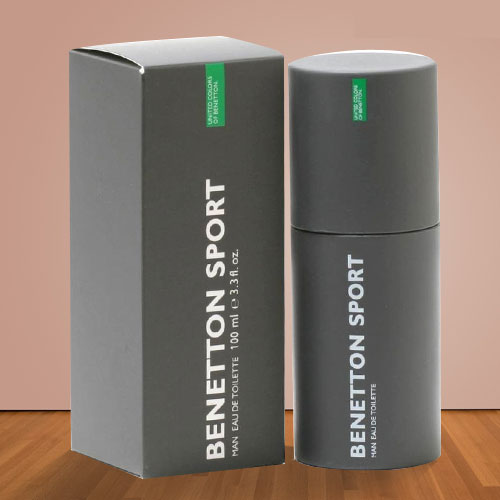 Wonderful Fragrance Special Benetton Sport Perfume 100 ml. Gents Perfume