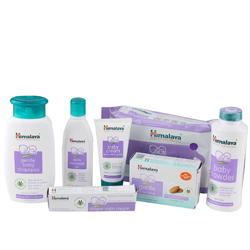 Beneficial Himalaya Baby Care Set with an Adorable Teddy