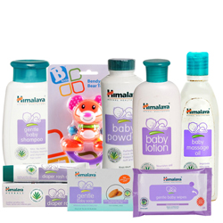 Charismatic Collection of Baby Care Products from Himalaya