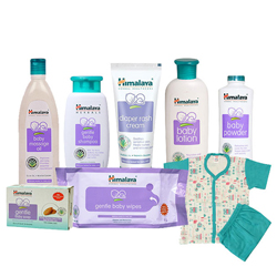 Comforting Collection of Baby Care Products with Warm Affection from Himalaya