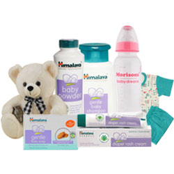 Graceful Combination Of Baby Care Products from Himalaya