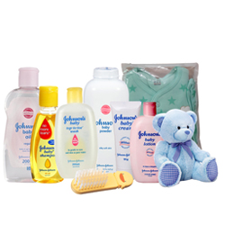Admirable Johnson Baby Care Pack with Intense Love and Care