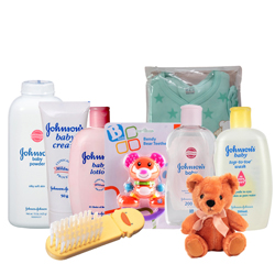 Attractive baby Care Gift Collection with Sweet Touch of Heart