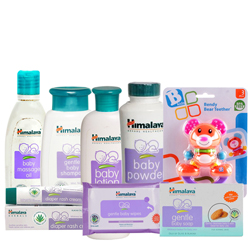 Charming Baby Care Gift Set from Johnson with Affectionate Indulgence