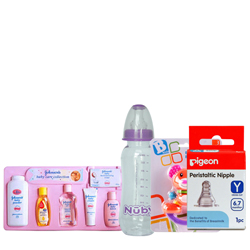 Delightful Baby Care Collection Kit from Johnson