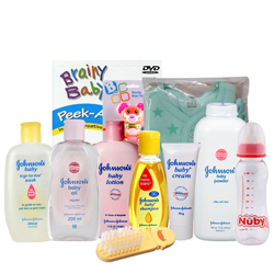 Popular Johnson Baby Care Gift Hamper