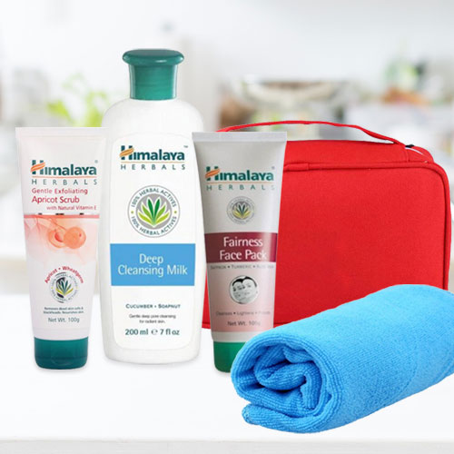 Heavenly Present of 3-in-1 Herbal Face Care Pack from Himalaya