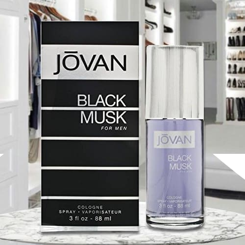 Remarkable Jovan Black Musk Cologne for Men