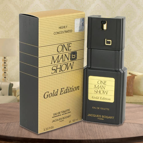 Marvelous Fragrance of  One Man Show Gold Jacques Bogart EDT Spray