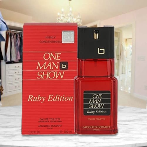 Popular Bogart One Man Show Ruby Edition Perfume for Men