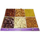 Zestful Marvel Dry Fruit and Chocolate Assemblage