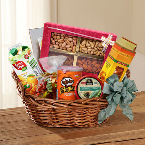 Delightful Dried Fruits N Assortment Basket
