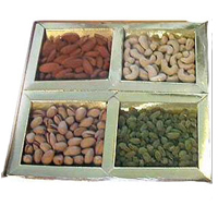 Delicious Mixed Dry Fruits Tray