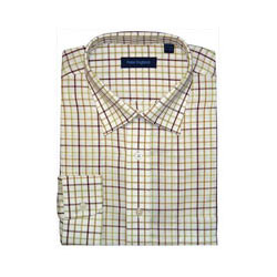 Full Sleeves Checks  Shirt from Peter England.(Fabrics cotton)