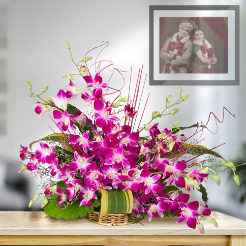 Online Arrangement of Delicate Orchids