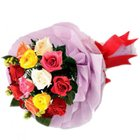 Enchanting Glory Mixed Roses Premium Bouquet