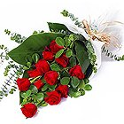 Sweet Symphony Bouquet of Red Roses