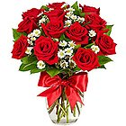 Passionate Bouquet of Dutch Red Roses