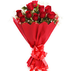 Special Gift of Red Roses Bouquet