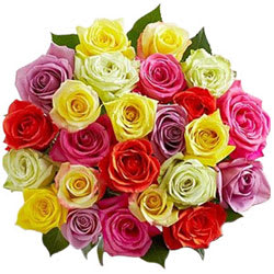 Multicolor Roses Bouquet