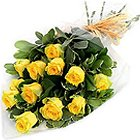 Sweetest Blush of Love Yellow Roses Bundle
