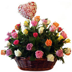 Tropical Passion for Fashion Floral Collection with Balloons