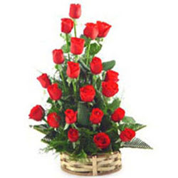 Awesome Arrangement of Red Roses