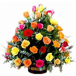 Special Arrangement of Mixed Roses