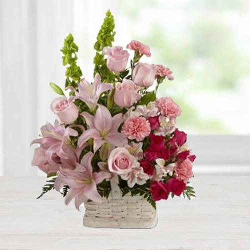 Wonderful Arrangement of Assorted Flowers