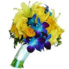 Animated Bouquet of Gleaming Flowers