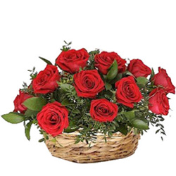 Special Wedding Anniversary Red Roses Arrangement