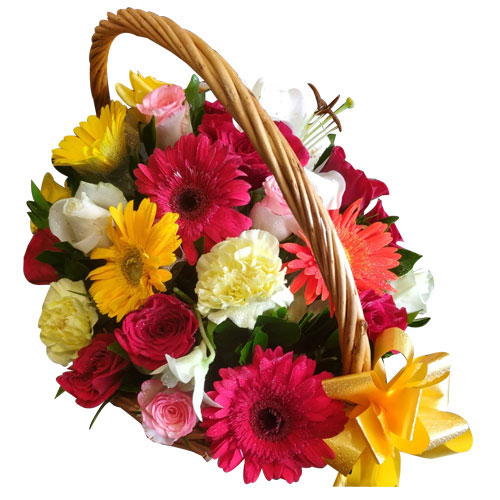 Stunning Basket of Assorted Florals