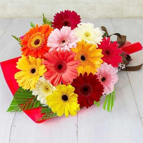 Bouquet of Dozen Gerberas
