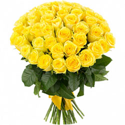Special Bouquet of Yellow Roses