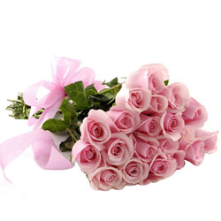 Lovely Hand Bunch of Pink Roses