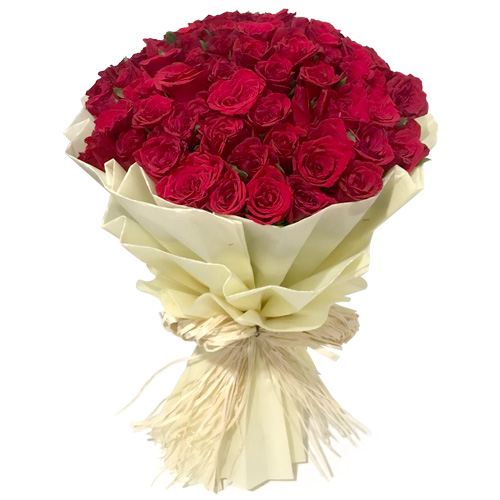 Impressive Red Rose Bouquet